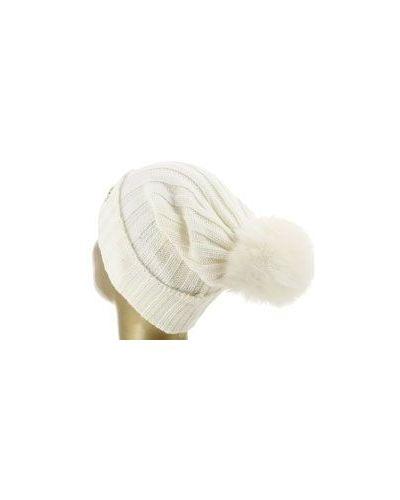 Белая шапка шерстяная Blugirl