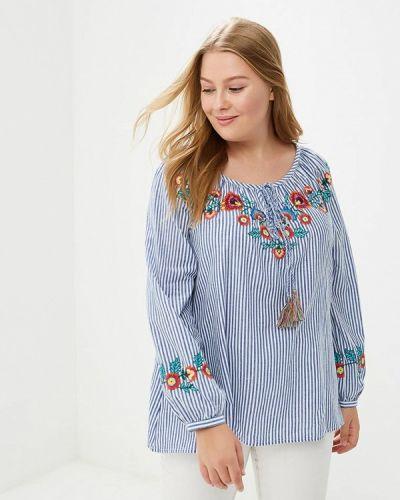 Голубая блузка Evans