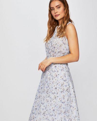 Платье миди на пуговицах расклешенное Silvian Heach