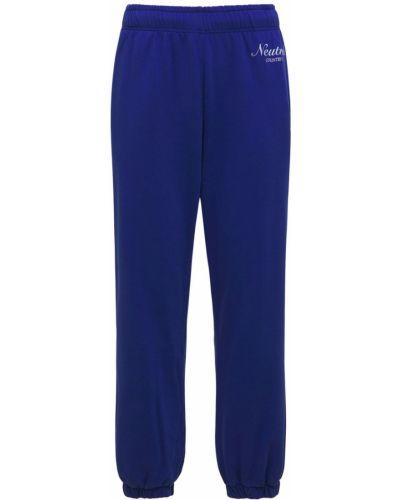 Niebieskie spodnie bawełniane Jaded London