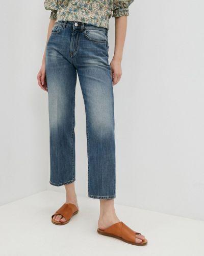 Синие прямые джинсы Seventy