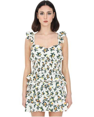 Biała sukienka Glamorous