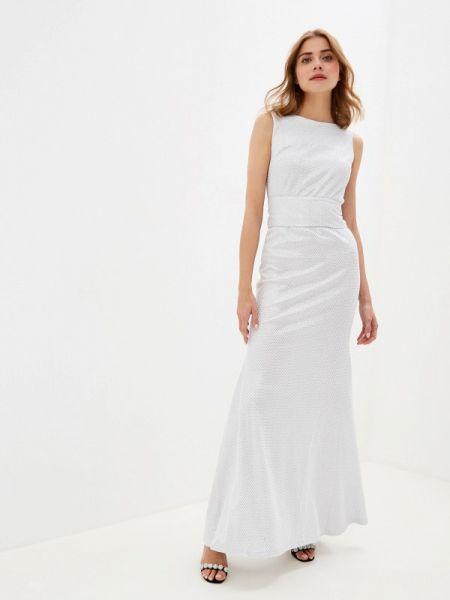 Вечернее платье серебряный Vika Ra