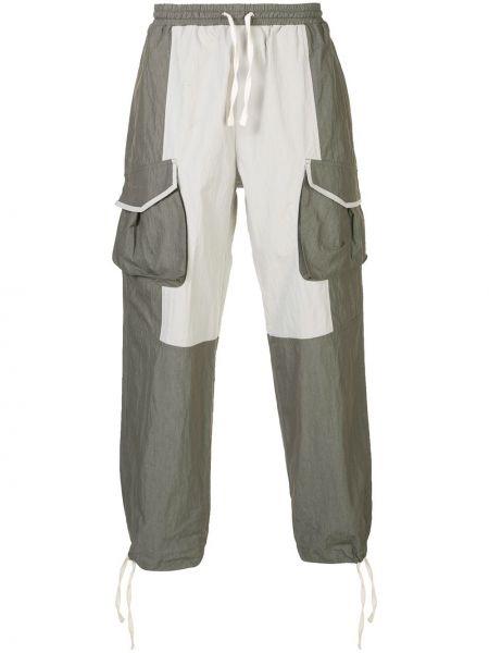 Białe spodnie bawełniane ciążowe Iise
