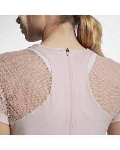 Платье макси со вставками сетчатое Nike