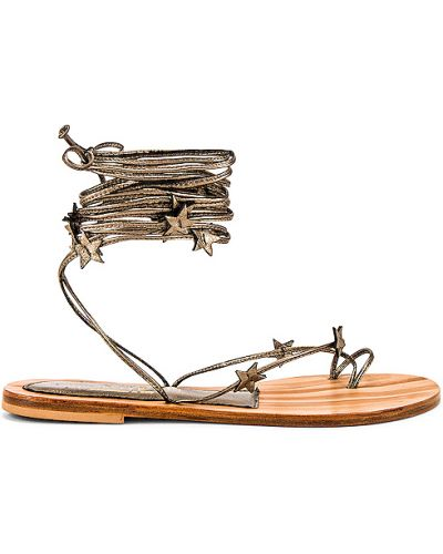 Sandały skorzane na co dzień kopertowe Cornetti