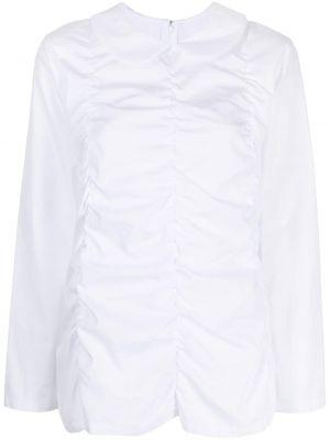 Рубашка на молнии - белая Comme Des Garçons Comme Des Garçons