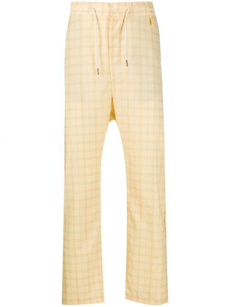 Żółte spodnie wełniane Drole De Monsieur
