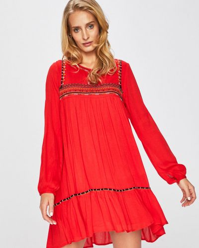 Платье мини с манжетами свободного кроя Answear