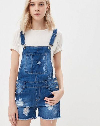 Синий джинсовый комбинезон Adrixx