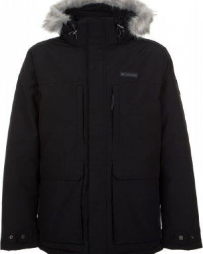 Зимняя куртка утепленная с капюшоном Columbia