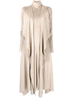 Платье макси длинное - коричневое Goen.j