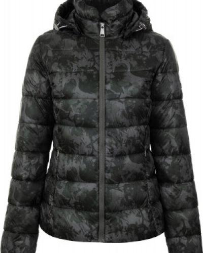 Утепленная куртка с капюшоном укороченная Luhta