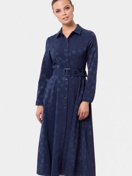 Платье - синее Vladi Collection