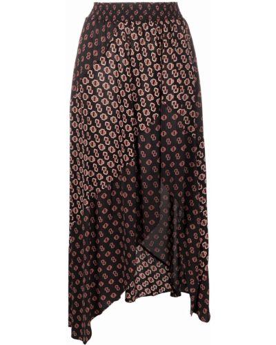 Spódnica rozkloszowana - czarna Maje