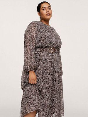 Повседневное платье - коричневое Violeta By Mango