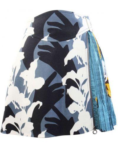 Niebieska spódnica wełniana Carven
