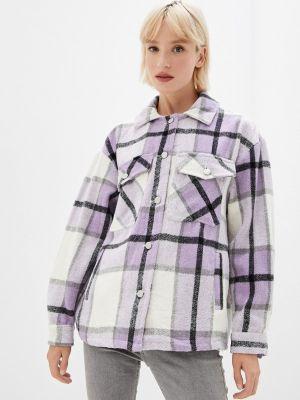 Фиолетовое зимнее пальто Fadas