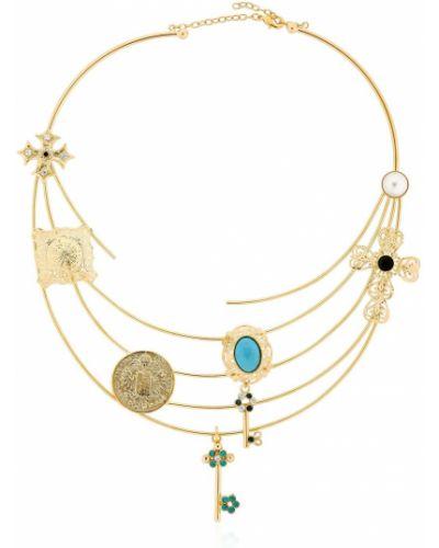 Ожерелье золотое позолоченное Tommaso Lonardo