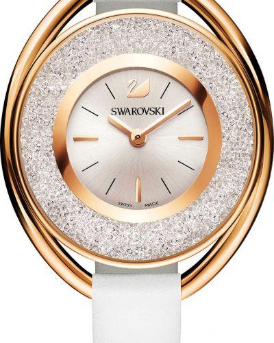 Часы с ремешком - серебряные Swarovski