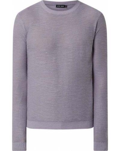 Fioletowy sweter Antony Morato