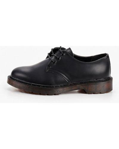 Кожаные черные оксфорды Damerose