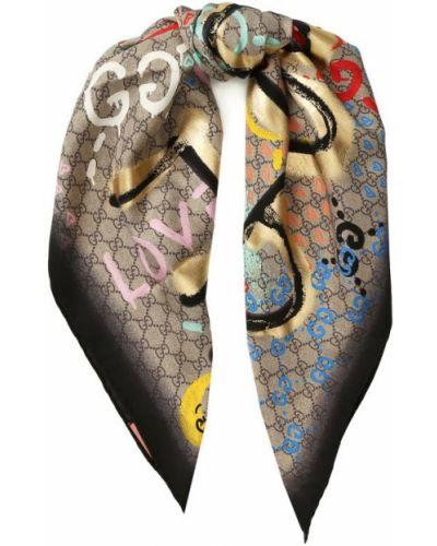 Платок из шелка тонкий Gucci