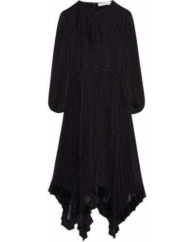 Платье миди из вискозы с вырезом Zimmermann