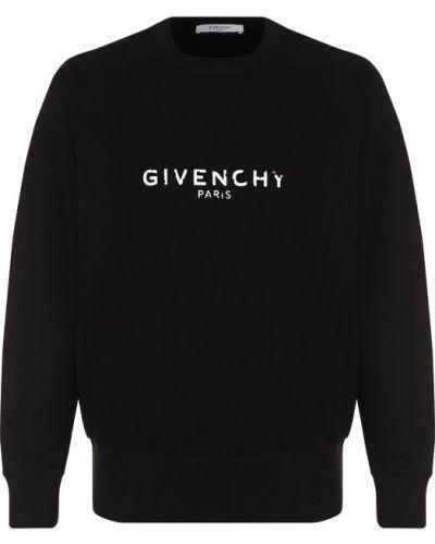 Футболка хлопковая с принтом Givenchy