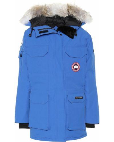 Парка - синяя Canada Goose