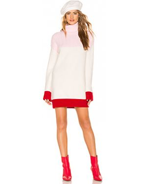 Платье макси розовое через плечо Lovers + Friends