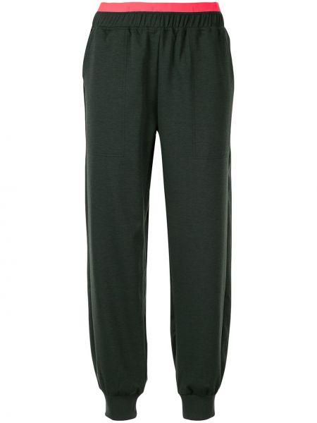Sportowe spodnie z wysokim stanem z kieszeniami Lndr