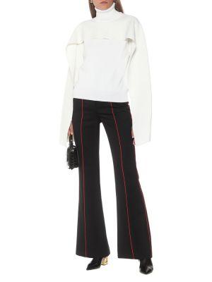 Biały sweter wełniany Givenchy