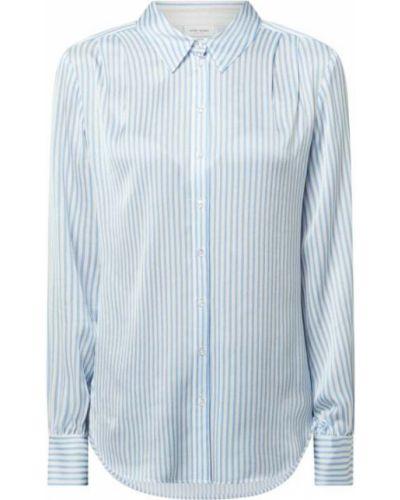 Niebieska bluzka w paski z wiskozy Gerry Weber