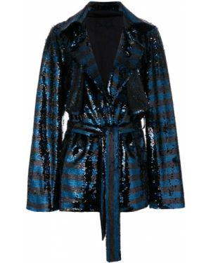 Куртка черная с пайетками Rta
