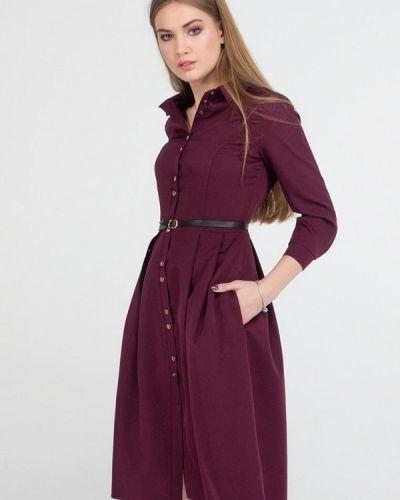 Платье миди - бордовое Viravi Wear