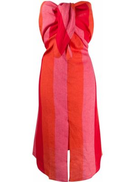 Платье миди макси в полоску Mara Hoffman