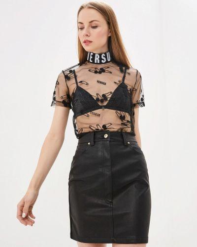 Блузка - черная Versus Versace