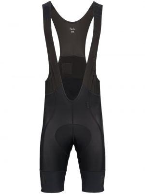 Черные спортивные шорты Rapha