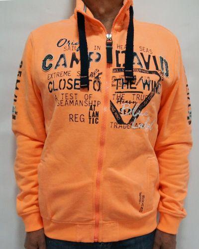Толстовка - оранжевая Camp David