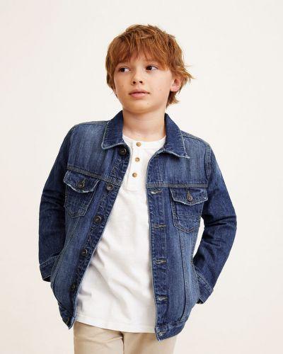 Куртка джинсовая теплая Mango Kids