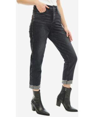 Укороченные джинсы черные Miss Sixty