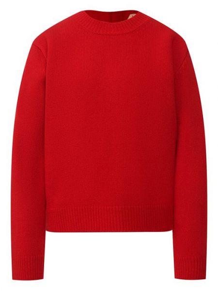 Шерстяной свитер - красный No. 21