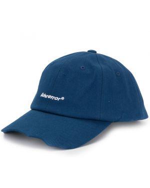 Czapka bawełniana - niebieska Ader Error