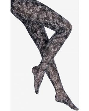 Колготки шелковые с принтом Wolford