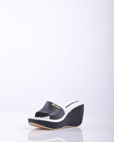 Сабо черные на каблуке Ipanema
