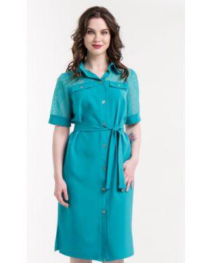 Летнее платье на пуговицах сафари Nikol