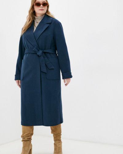Синее пальто осеннее Trendyangel