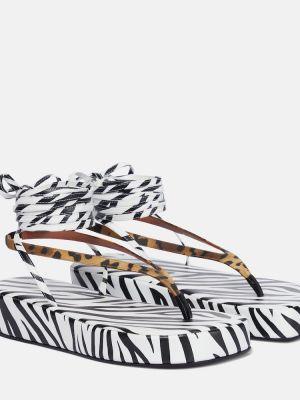 Кожаные сандалии Amina Muaddi