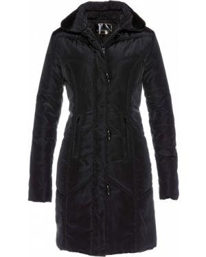 Стеганое пальто на молнии с воротником Bonprix